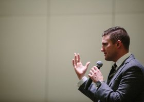 Richard Spencer addressing a press conference in Washington D.C (Ariel Zambelich/NPR)