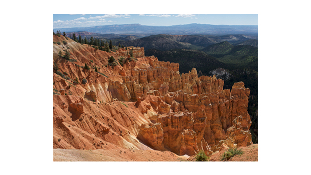 Bryce Canyon National Park has a 18-mile scenic road and highest elevations reaching 9,000 feet. (Scott Fredrickson)