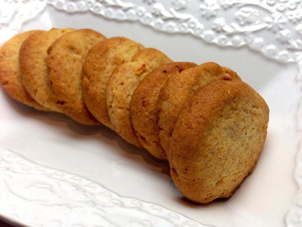 Biscotti integrali al mandarino