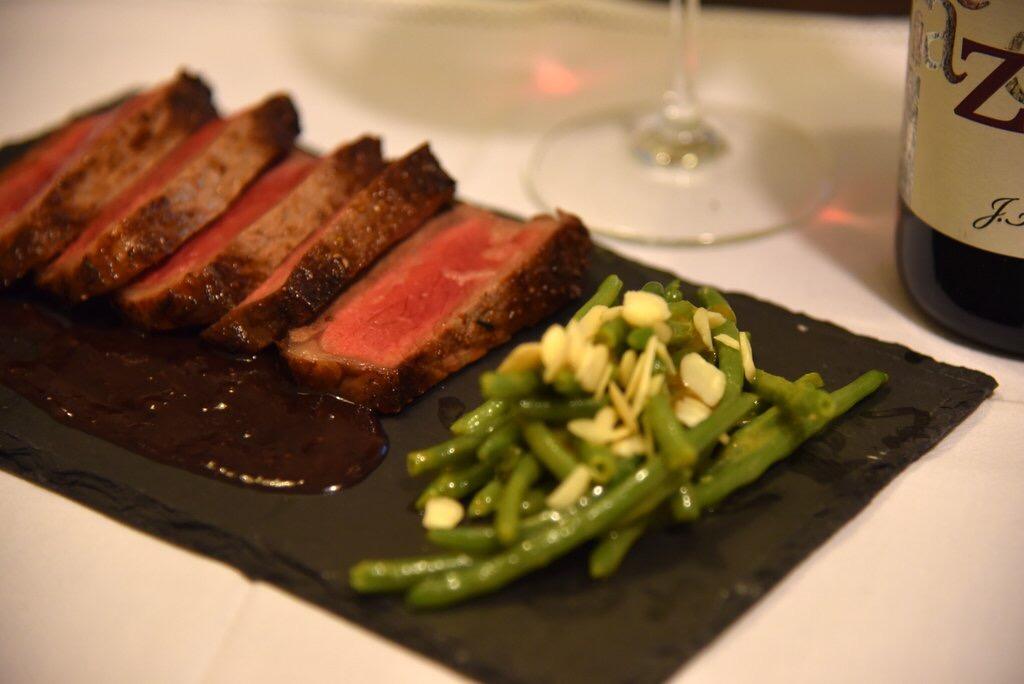 Costata american beef Ribeye al Porto