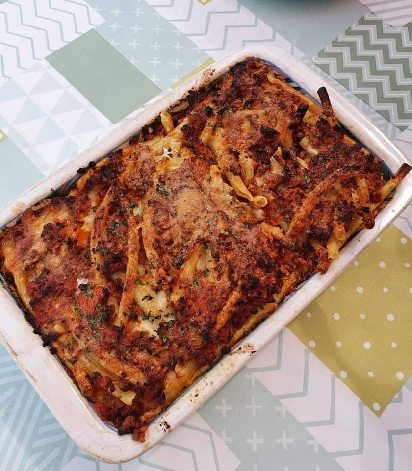 La ricetta della pasta al forno: ziti