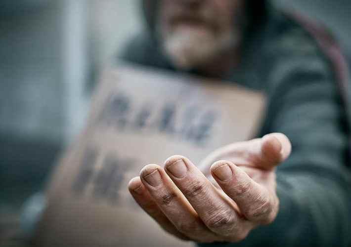 senzatetto nel mondo