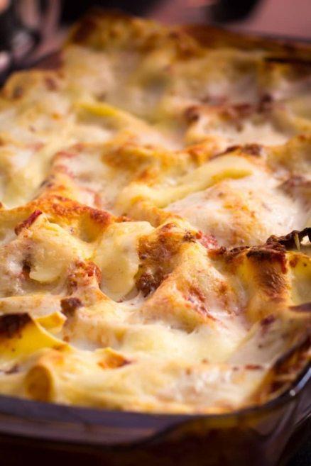 Le lasagne emiliane al forno secondo la tradizione