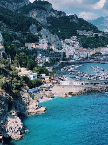 scialatielli amalfitani: la città di Amalfi