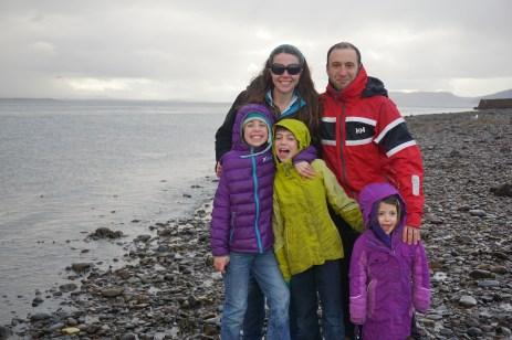 Enjoying a fine warm day at Chanonry Point, Scotland.