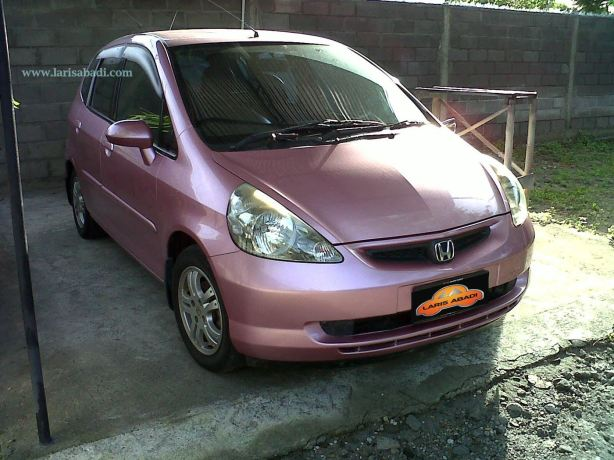 Honda Jazz Irish Red