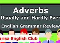 Adverbs Usually and Hardly Ever Grammar Review Audio