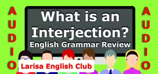 English Grammar Interjection Audio