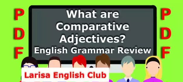 What are Comparative Adjectives PDF