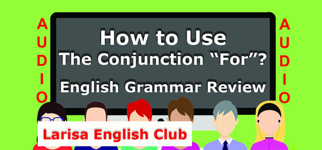 How to Use The Conjunction For Audio