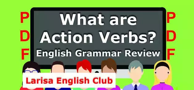 What are Action Verbs PDF
