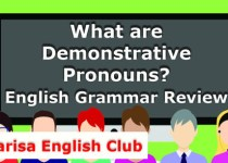 What are Demonstrative Pronouns Audio