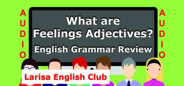 What are Feelings Adjectives Audio