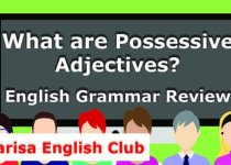 What are Possessive Adjectives Audio