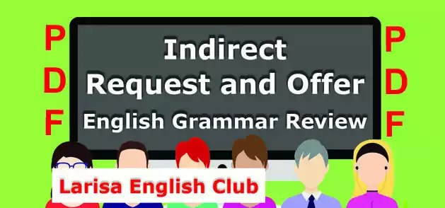 Indirect Request and Offer PDF