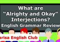 """What are """"Alrighty and Okay"""" Interjections Audio"""