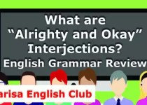 """What are """"Alrighty and Okay"""" Interjections PDF"""