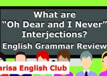 """What are """"Oh Dear and I Never"""" Interjections PDF"""