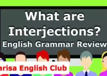 What are Interjections PDF