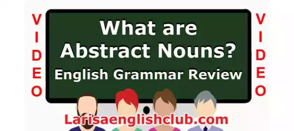 LEC What are Abstract Nouns Video
