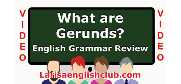 LEC What are Gerunds Video