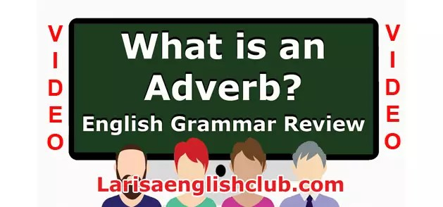 LEC What is an Adverb Video