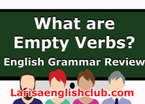 LEC What are Empty Verbs