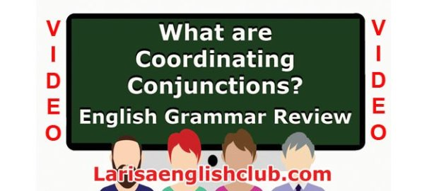 LEC What are Coordinating Conjunctions