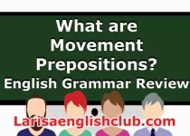 LEC What are Movement Prepositions