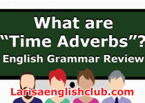 LEC What are Time Adverbs