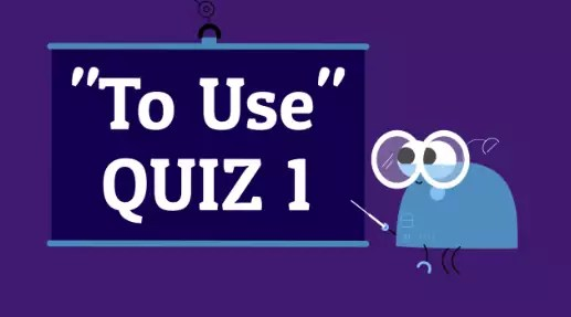 Verb To Use 1 American English Quiz