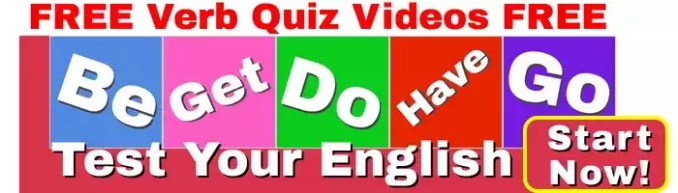 FREE Verb Quiz! Take the quiz now!