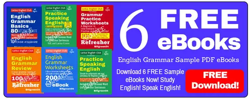 6 Free English Grammar Books