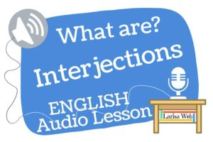 What are interjections in English?