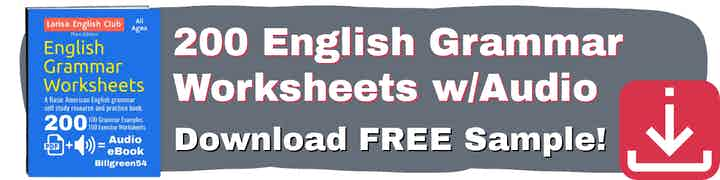 English Grammar 200 Worksheets