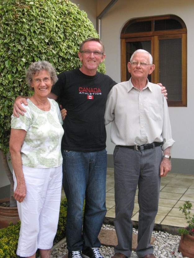 Oma, her brother and her nephew.