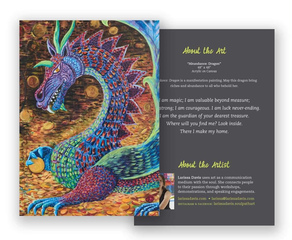 Greeting Cards Larissa Davis Is The Soul Path Artist