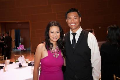 Larissa Lam & Only Won at Metamorphosis Gala