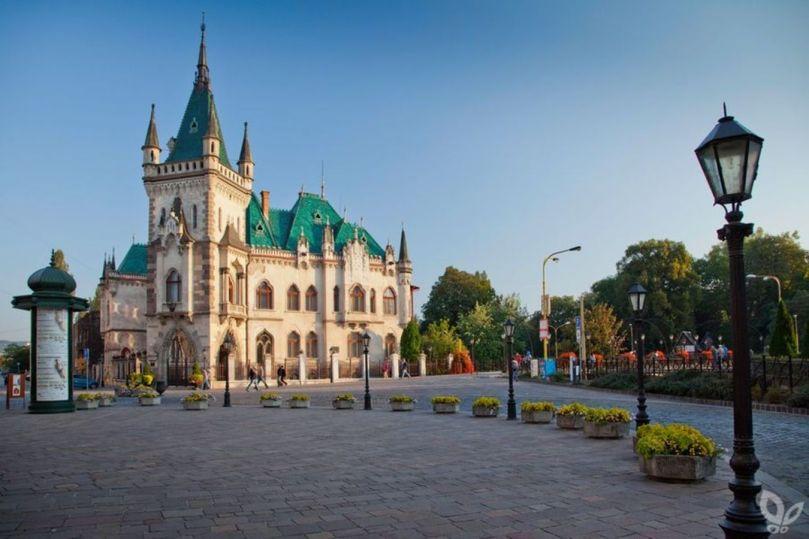 Кошице — столица восточной Словакии
