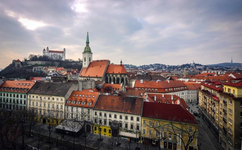 «Найди себя» в Братиславе