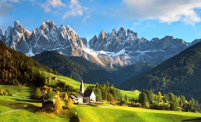 Летний отдых в Альпах