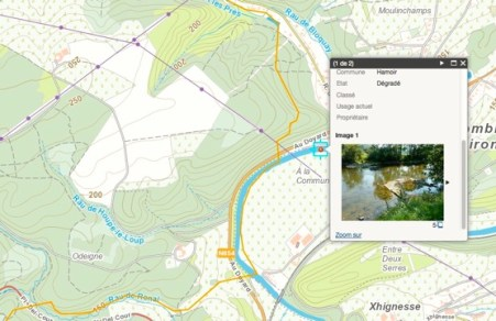 Cartographie Contrat Riviere Ourthe