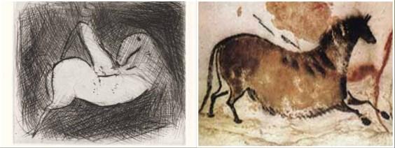 Marino Marini e Altamira, Arte Preistorica