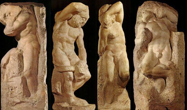 Michelangelo I Prigioni di Michelangelo, Galleria dell'Accademia