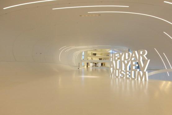 Museo a Baku, Heydar Aliyev Museum by Bernardo Ricci Armani