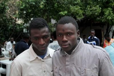 Migranti durante il workshop