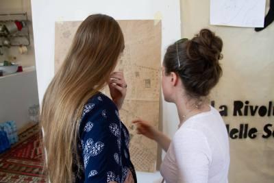 Discussione di progetto durante design jam