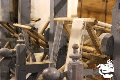 Visita al centro di produzione della seta