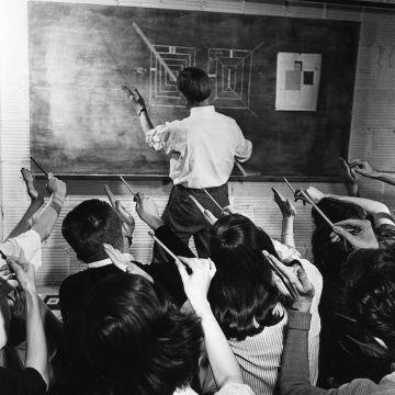 Josef Albers at Black Mountain College, 1940