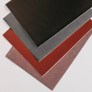 sheets of Match strike paper fanned out